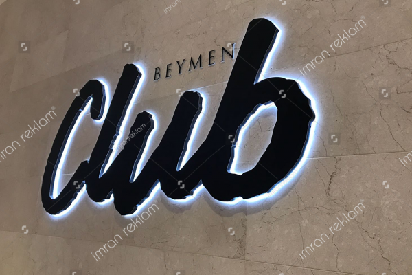 Beymen Club Alüminyum Kutu Harfli Tabela